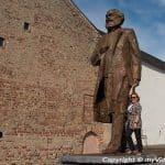 Besuch bei Karl Marx in Trier
