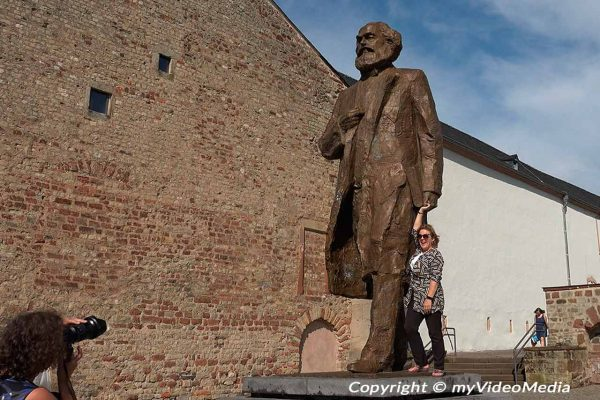 Visiting Karl Marx in Trier