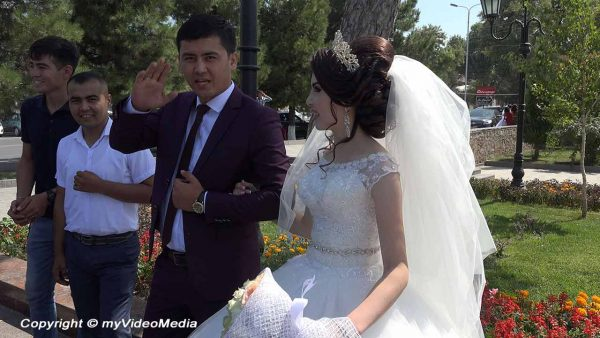 Wedding Couple Samarkand