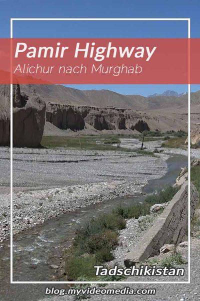 Alichur nach Murghob Tadschikistan