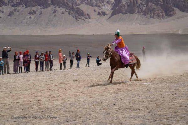 Bride race Murghab - Kyz-kuumai