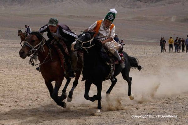 Bride's Race at Murghab Horse Festival