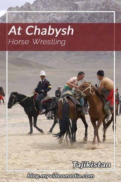 Horse Wrestling in Murghab
