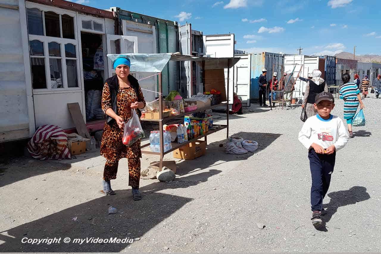Markt in Murghob