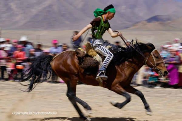 Horse Racing at Murghab Horse Festival