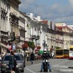 Spaziergang im südlichen Teil von Warschau