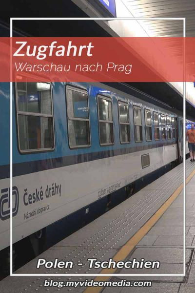 By Train from Warsaw to Prague