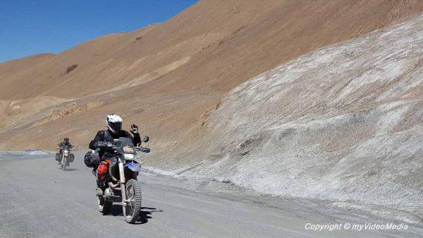 biker at AK-Baital Pass
