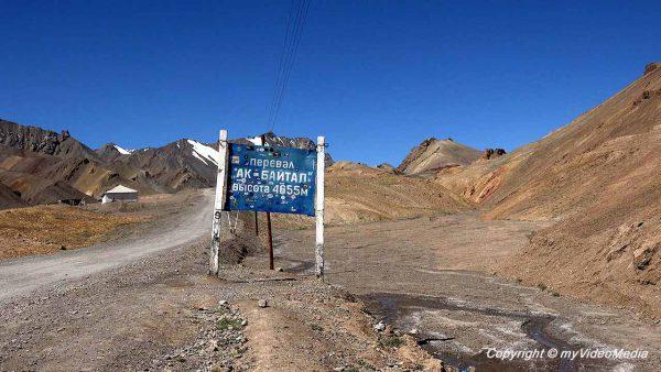 AK-Baital Pass Tajikistan