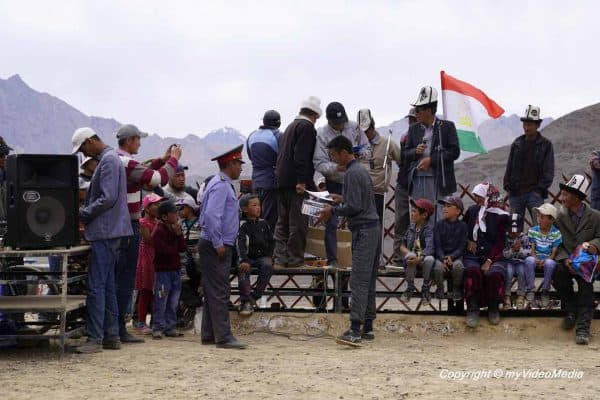 Award-Ceremony Murghab Horse Festival