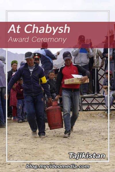 Award Ceremony Murghab Horse Festival