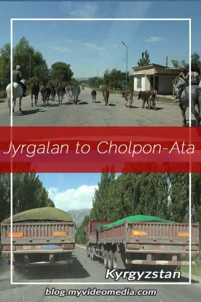 Jyrgalan to Cholpon-Ata