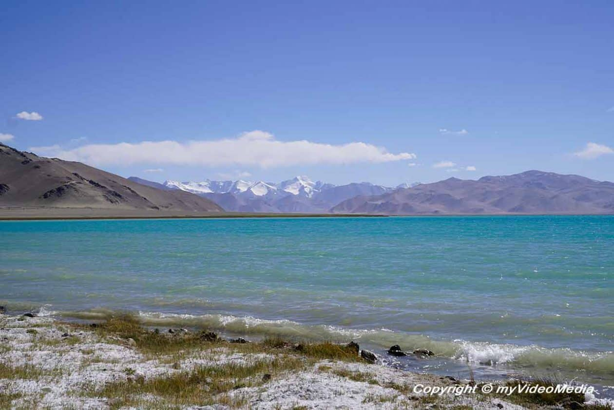 Karakul – the lake in the crater of a meteor
