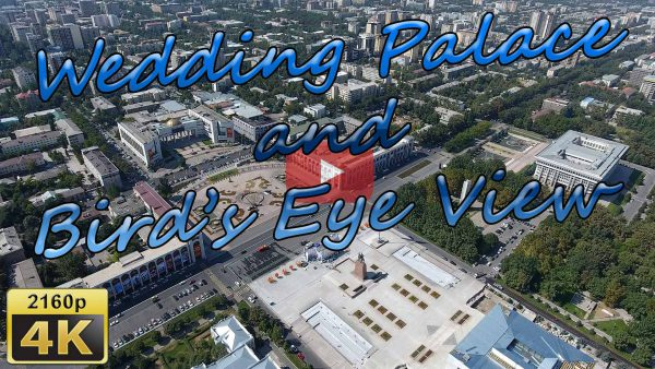 Birds eye view Wedding palace