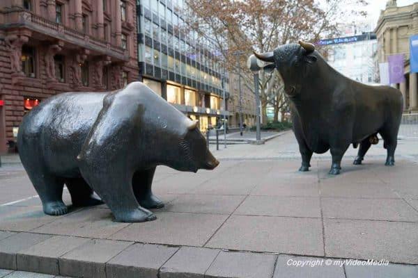 Bull and bear frankfurt