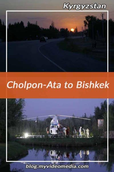 Cholpon-Ata to Bishkek