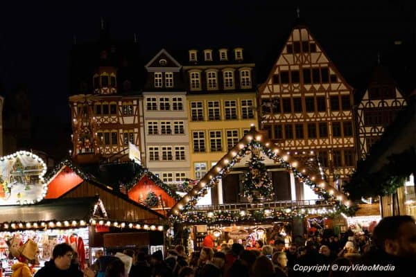 Frankfurt Christmas Market – around the Römer