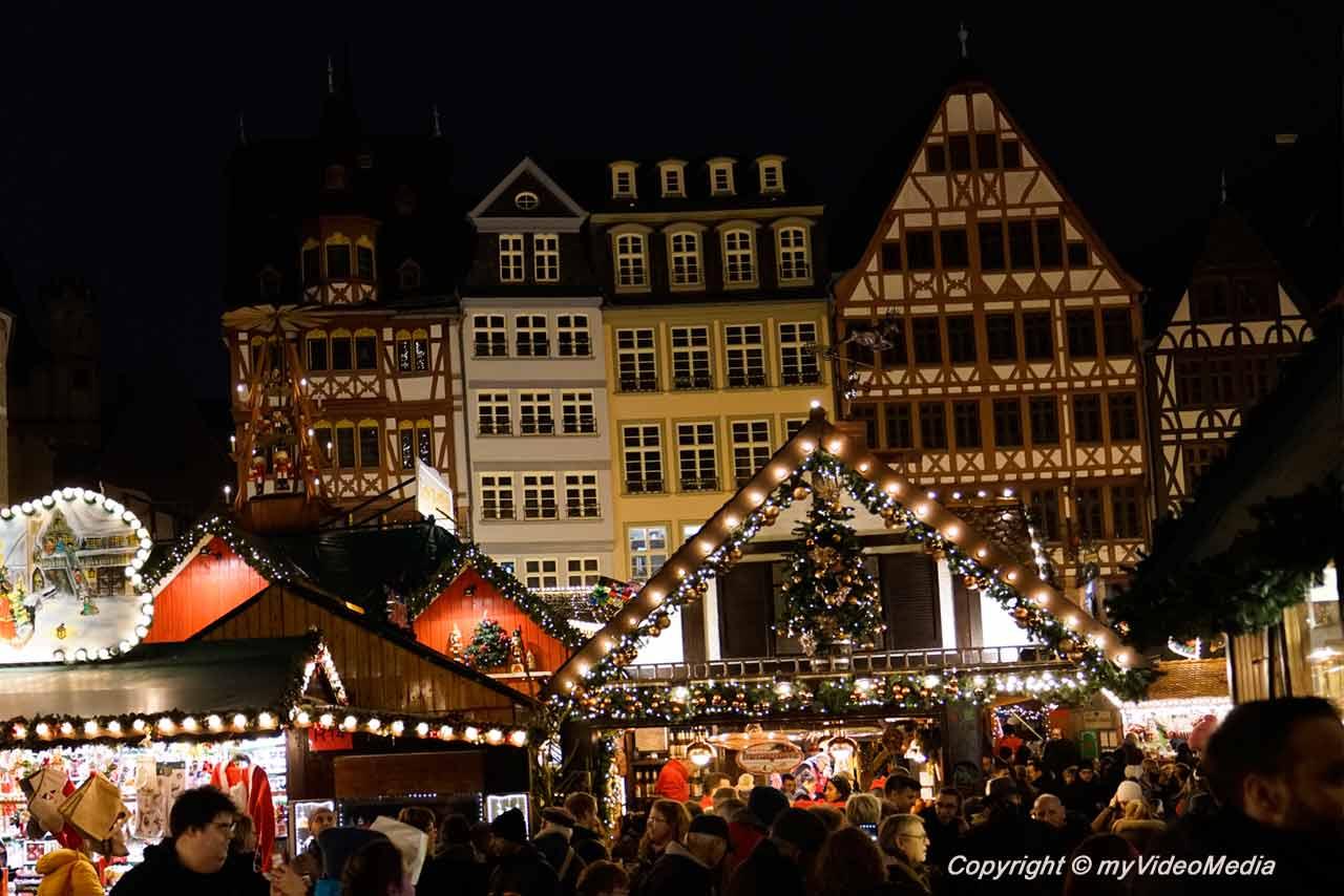 Frankfurter Weihnachtsmarkt - Rund um den Römer