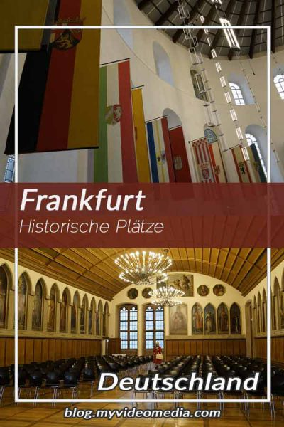 Historical places in Frankfurt