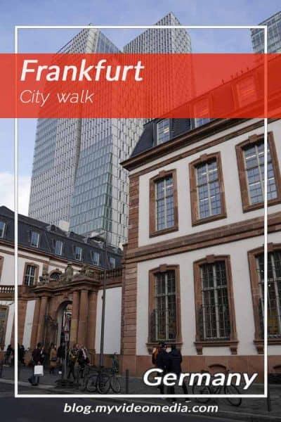 Frankfurt City Walk
