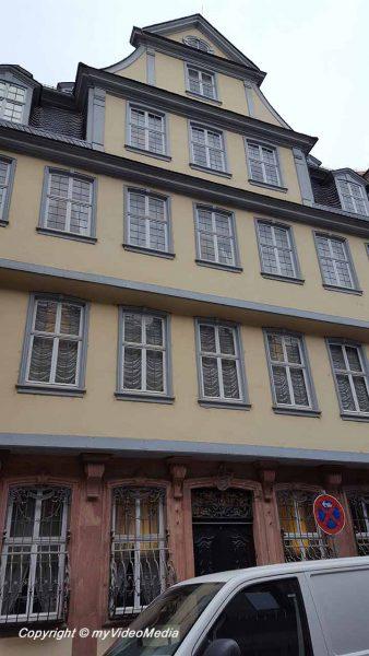 Birthplace of Goethe Frankfurt