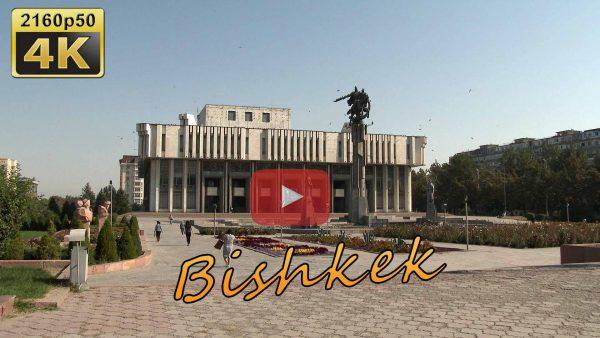 City walk Bishkek