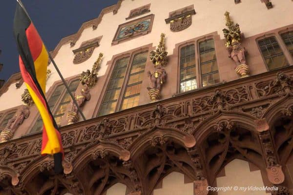 Balcony Roemer Frankfurt