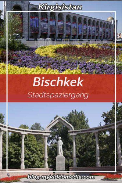 Stadtspaziergang in Bischkek