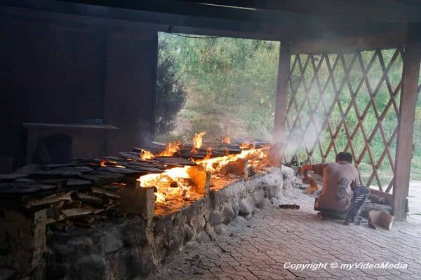 grill at Supara Ethno Complex