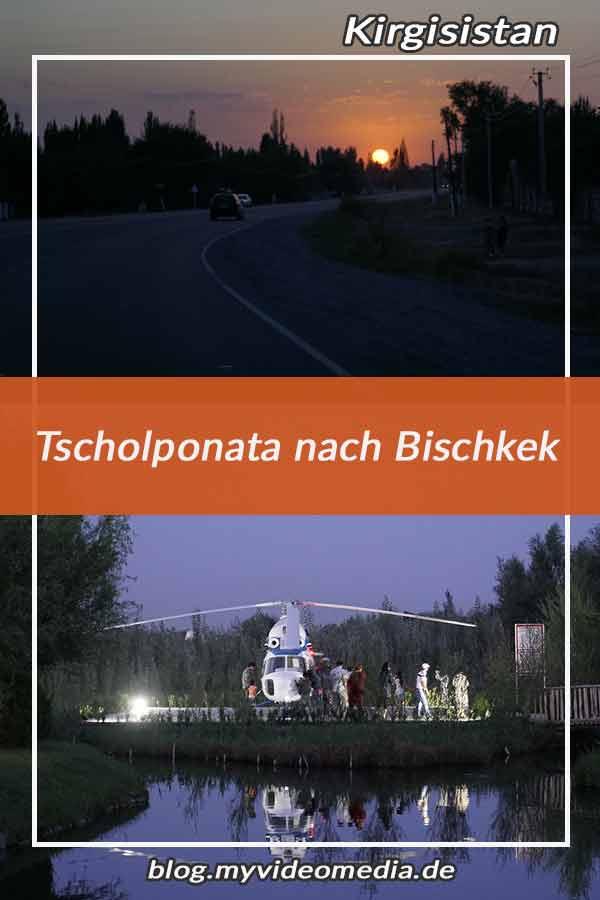 Cholpon-Ata to Bishkek