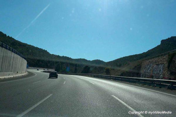 Motorway Murcia Cartagena