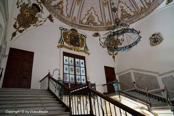 Inside the Episcopal Palace Murcia