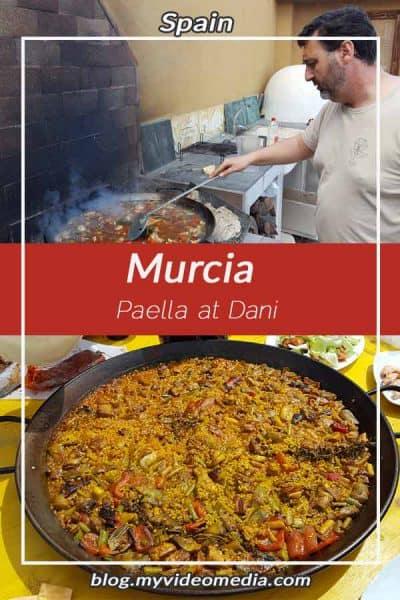 Paella at Daniel Robles