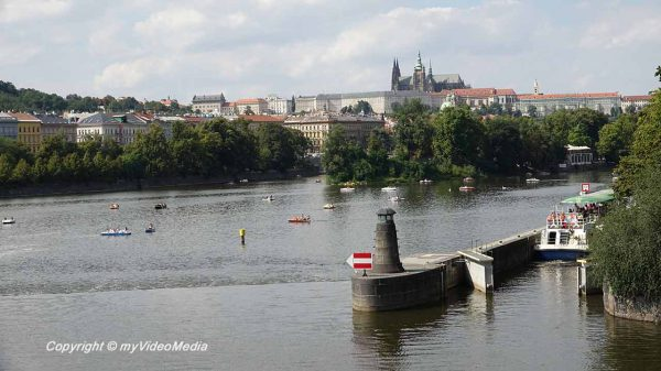 Along the Vltava