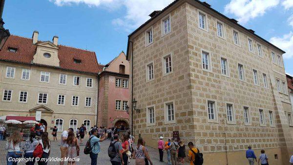 Innenhof Prager Burg