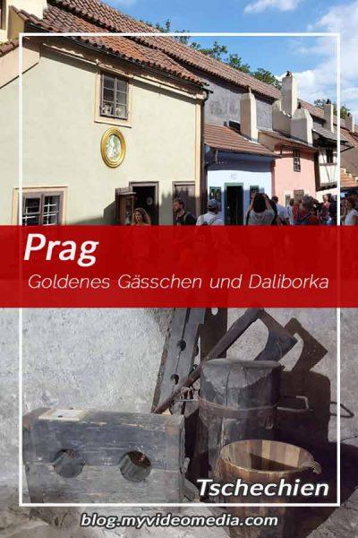 Goldenes Gässchen und Daliborka Turm
