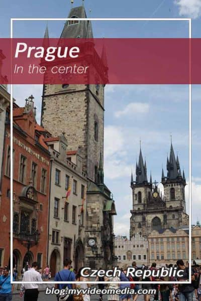 In the Center of Prague