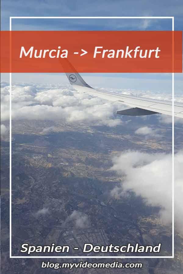 Murcia to Frankfurt