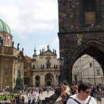 Prag an einem Sonntag