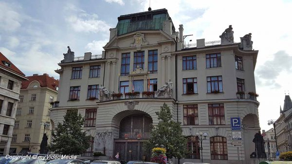 New town hall Prague