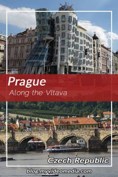 Along the Vltava in Prague