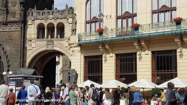 Überreste des Prager Königshofes