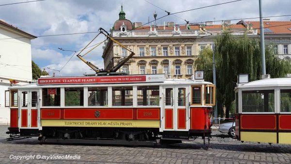 historic tram Prague