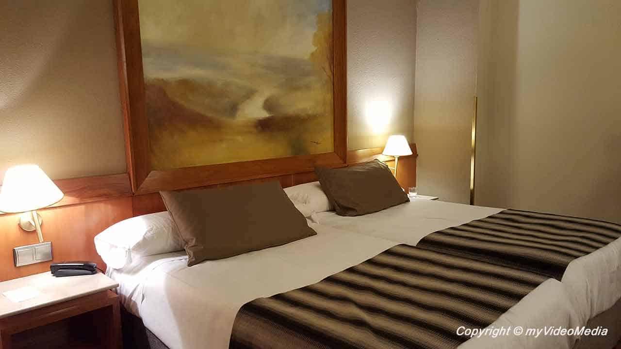 Hotel room Conde De Floridablanca Murcia