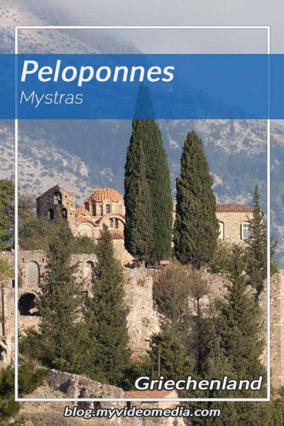 Mystras Peloponnes