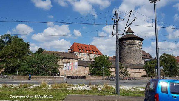 Ankunft in Nürnberg