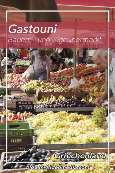 Bauern- und Zigeunermarkt in Gastouni