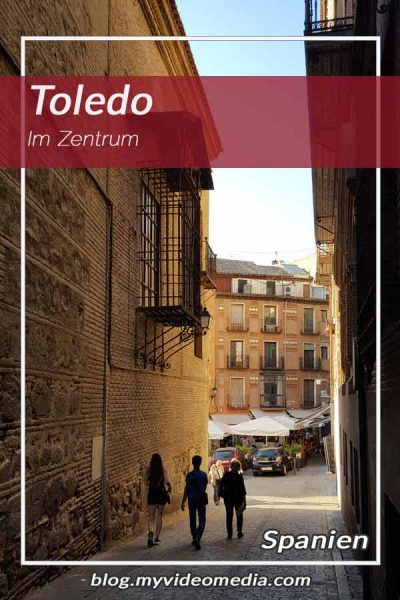Im Zentrum von Toledo