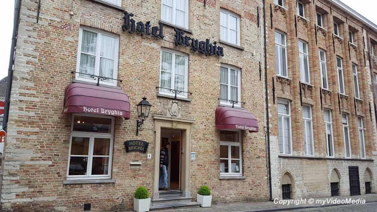 Hotel Bryghia in Bruges Belgium