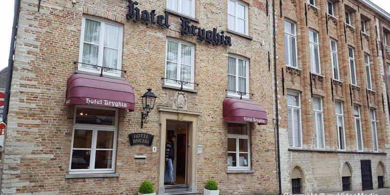 Hotel Bryghia in Bruegge